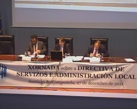 Carlos Pérez González. Técnico de Administración Xeral do Concello de Sada - Xornada sobre a Directiva de Servizos e a Administración Local